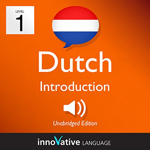 Learn Dutch - Level 1: Introduction to Dutch, Volume 1: Lessons 1-25                   By:                                                                                                                                 Innovative Language Learning LLC                               Narrated by:                                                                                                                                 Innovative Language Learning                      Length: 3 hrs and 13 mins     5 ratings     Overall 4.2