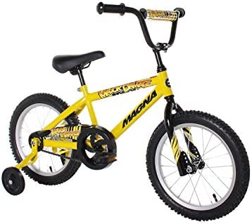 Bicicleta de niño Dynacraft Magna Major Damage (16 in, amarillo, negro)