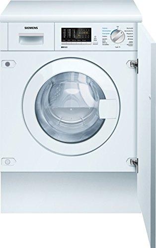Siemens WK14D541 Integrado Carga frontal B lavadora - Lavadora-secadora (Carga frontal, Integrado, Izquierda, Botones, Giratorio, Acero inoxidable, 52 L)
