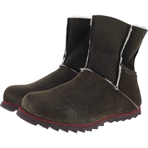 Snipe / Modell: Rippel Sport Stiefelette/Verde-Moos-Braun/Leder/Art: 42900-001 / Damen Stiefel Größe 40 EU