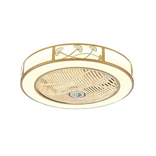 HSJ WDX- Lámpara de Techo 60 cm Ventilador de Techo LED40W hogar Dormitorio Sala Comedor Comedor iluminación Ventilador de Techo luz Durable