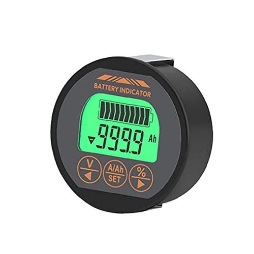 Sanfiyya Capacidad de la batería del Metro del probador del amperímetro del voltímetro del indicador Tr16 120v 350a de Litio del Hierro de la Motocicleta Ups Plomo-ácido