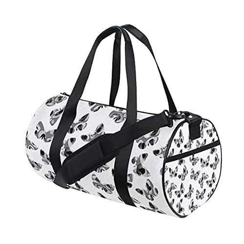 Borsone da palestra, Old Stone Cross Swim Sports Travel Gym Bag con scomparto per scarpe e tasca bagnata per donne o uomini
