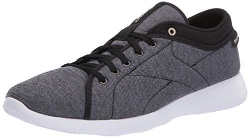 Reebok Women's Runaround Walking Shoe, Black/Stucco/White,...