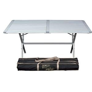 Tavolino da campeggio Genius, in alluminio, 150 x 80 cm 12 spesavip