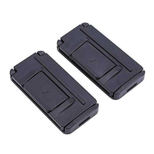 Regolatore della cintura di sicurezza per auto Car-Styling 1 paio Auto Car Relax Cintura di regolazione Regolatore della cintura Collo Supporti Morsetto Spalle Comfort A Cinture di sicurezza Clip