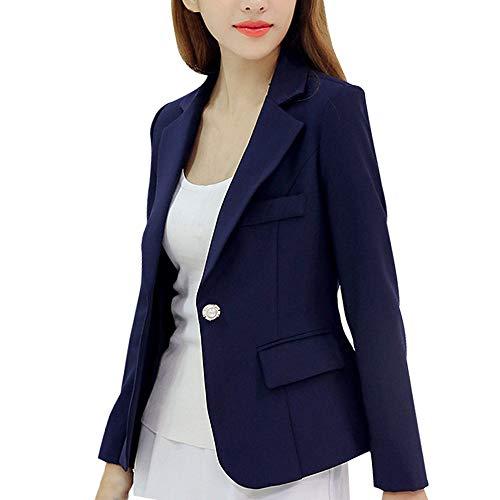 ours blazers for women iYBUIA Office Ladies Fall Women Long Sleeve Striped Stylish Duster Blazer Jacket Coat