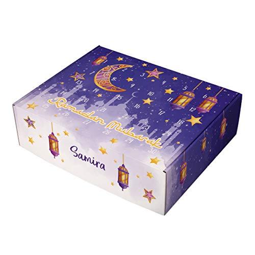 Herz & Heim® DIY Ramadan Kalender mit Wunschnamen Lampion