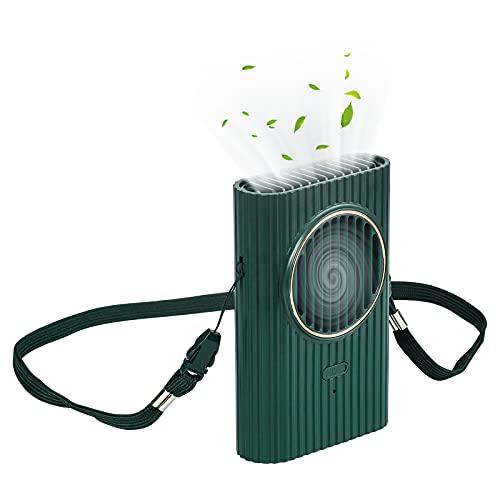 yumcute Mini Ventilatore Portatile Vivavoce con Cordino ,Confortevole Ricarica USB Ventola ,Mini Portatile Ventilatore USB ,adatto per Scrivania, Casa Ufficio,Viaggiare,Esterno