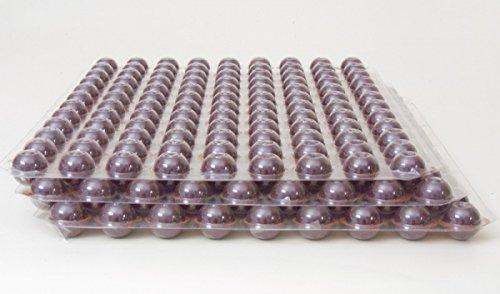 324 Stk. 3-Set Mini Schokoladen Hohlkugeln - Praline Hohlkörper Edelbitter