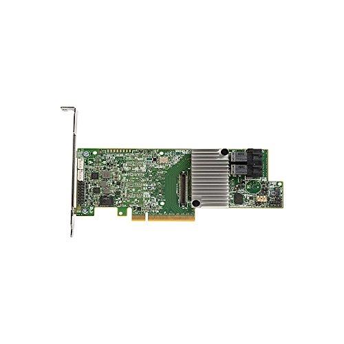 LSI MegaRAID SAS 9361-8i 8-Port 12Gb/s SATA+SAS PCI-Express 3.0 Low Profile RAID Controller, Single