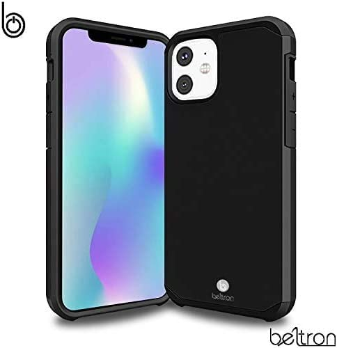 BELTRON Case with Belt Clip for iPhone 11 (2019), Slim Full Body Protection Heavy Duty Hybrid Case & Rotating Belt Clip Holster with Built in Kickstand for iPhone 11 6.1