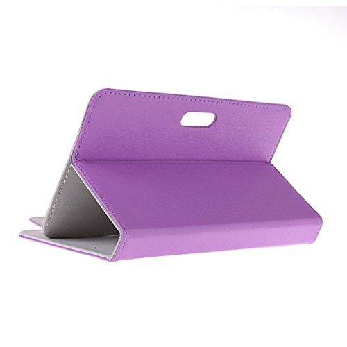 BRALEXX Universaltasche für Tablet PC passend für i.onik TP Serie 1 - 7 Zoll, Violett 7 Zoll