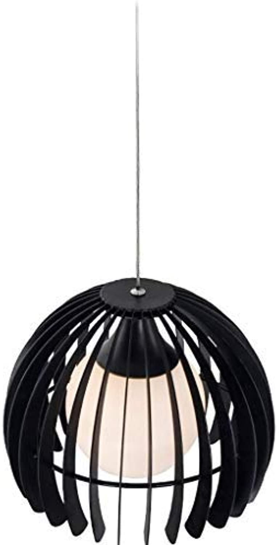 XFZ Moderner Minimalismus Pendelleuchte E27 Lampenfassung Halle Esszimmer Restaurant Wohnzimmer Schlafzimmer Arbeitszimmer Hngelampe Klassisches Eisenglas Dekorative Deckenbeleuchtung & Blitzlicht; 2