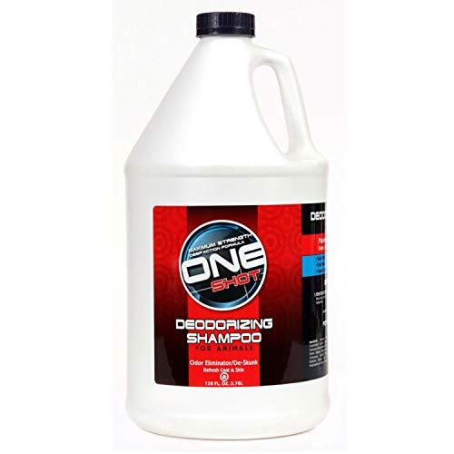 One Shot Deodorizing Shampoo, 1 Gallon