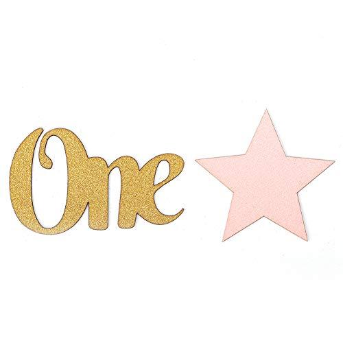 100 stuks Twinkle Little Star decoratie voor verjaardag bruiloft goud papier confetti pentagram letters One Decor Accessoires roze