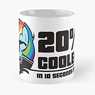 20 Cooler Rd Rainbow Dash - 11 Oz Coffee Mugs Ceramic,the Best Gift For Holidays.