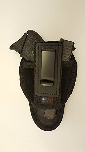 Ace Case Ambidextrous Tuckable Inside The Pants Holster for Ruger LCP- Made in The USA (Black)