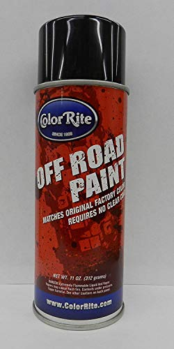 ColorRite Paint for Honda R119 Flash Red Spray Paint Dirt Bike Single Stage
