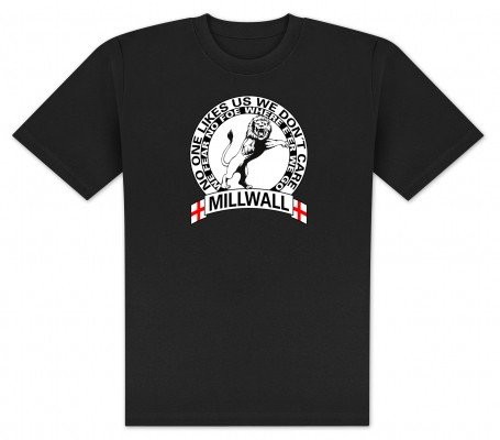 World of Football T-Shirt Millwall Round - XL
