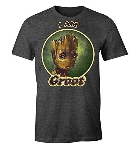 Io Sono Groot Closset T-Shirt Maglietta Scollo V Donna