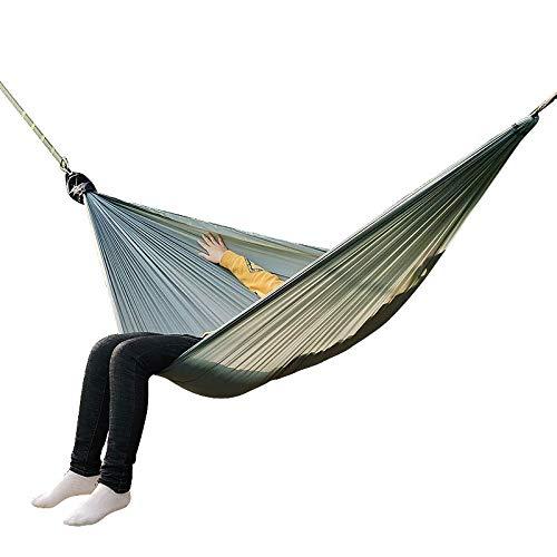 Hamaca Al Aire Libre King Size Camping Hamaca Paracaídas Doble Portátil Pareja Nylon Hamak Travel