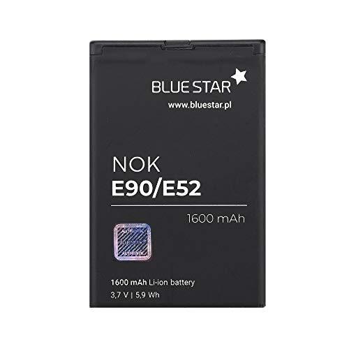 Blue Star Premium - Batteria da 1600 mAh Li-Ion de Capacità Carica Veloce 2.0 Compatibile Con il nokia e52 / e71 / n97 / e61i / e63 / e90 / 6650 fp
