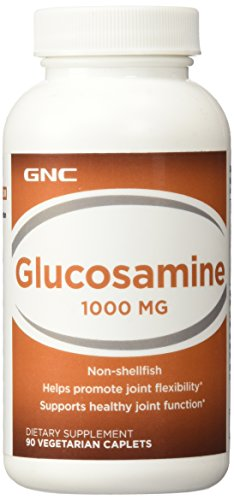 GNC Glucosamine 1000mg, 90 Caplets, Supports Healthy Joint Function