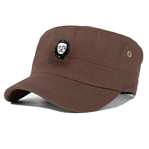 Vogue Site Viva LA Revolucion - Bernie OR Bust Unisex Cotton Army Cap Cadet Hat Military Flat Top Adjustable Baseball Cap