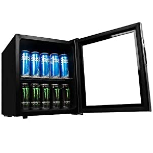 EdgeStar 62-Can Beverage Cooler - Stainless Steel