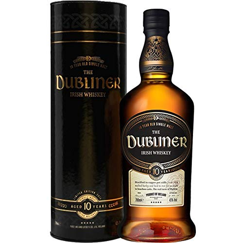 The Dubliner 10 Years Irish Whiskey 42% 0,7l Flasche