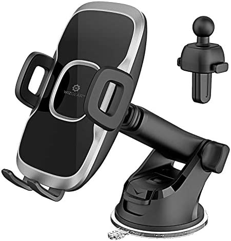 WizGear Dashboard Telescopic Arm with Air Vent Swift Grip Phone Holder for Car Cell Phone Car product image
