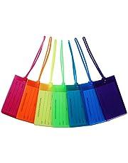 Etiqueta de Equipaje, AIXMEET 7 Piezas Maletas Viaje Etiquetas Luggage ID Tag