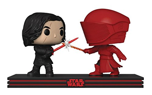 Funko- Pop Star Wars Movie Moment Last Jedi-Clash on The Supremacy Figuras de Vinilo Kylo REN & Guardia Pretoriano, Multicolor (32559)