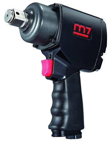 "MIGHTY-SEVEN M7 NC-3611Q M7 Mini Quiet 3//8/"" Air Impact Wrench"