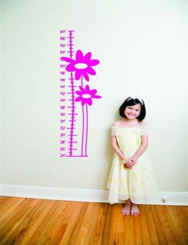 hot pink flower growth chart - 3