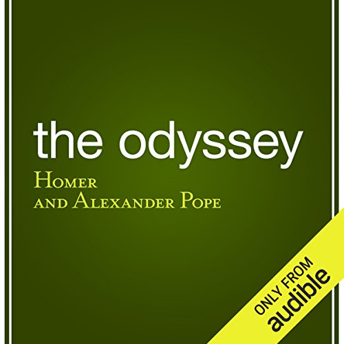 The Odyssey                   By:                                                                                                                                 Homer,                                                                                        Alexander Pope - translator                               Narrated by:                                                                                                                                 Bernard Clark                      Length: 15 hrs and 22 mins     Not rated yet     Overall 0.0