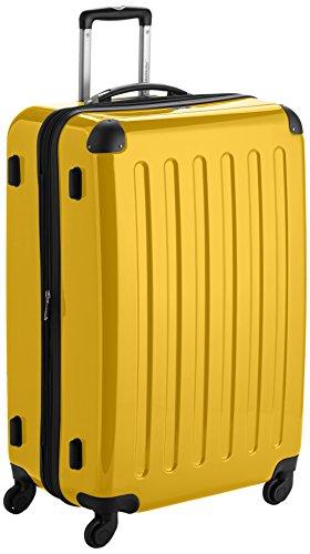 Hauptstadtkoffer Alex, Maleta a Mano Rígida, Amarillo (Yellow), 75 cm