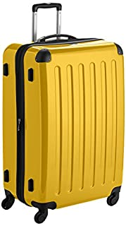 HAUPTSTADTKOFFER - Alex - Luggage Suitcase Hardside Spinner Trolley 4 Wheel Expandable, 75cm, yellow (B007AKCHV8) | Amazon price tracker / tracking, Amazon price history charts, Amazon price watches, Amazon price drop alerts