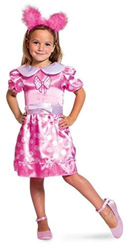 Vestito rosa a pois - taglia S per bambini