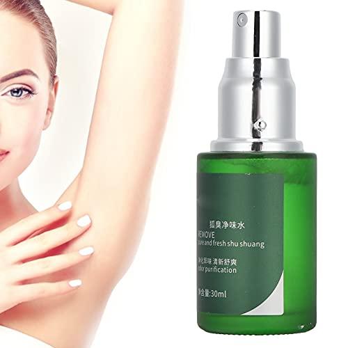 Spray antitranspirante, antitranspirante para axilas, desodorante corporal Ouliyuan Spray refrescante desodorante unisex Spray para eliminar el olor de axilas 30ml