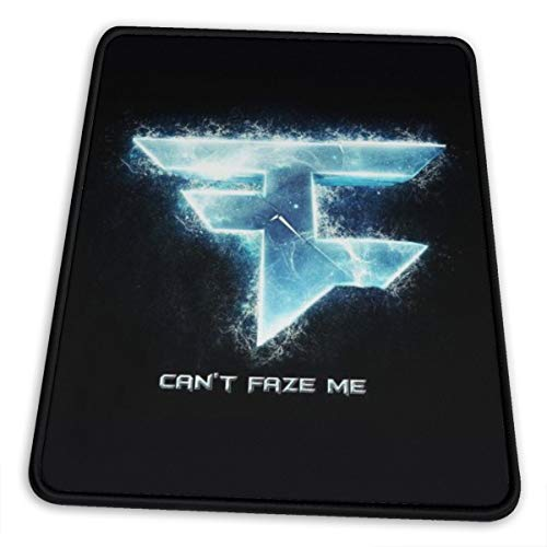 Faze Clan Mouse Pad, Classic Office Gaming Mouse Pad, Washable Rectangular Non-Slip Rubber 10 X 12 Inch Mouse Pad