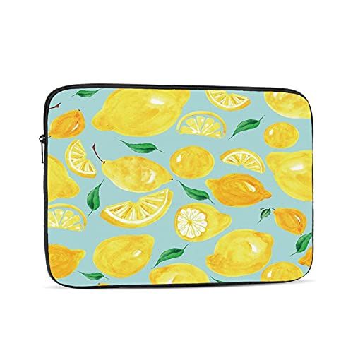 10 Inch Inch Laptop Bag Sleeve Case Lemon Notebook Waterproof Computer Tablet Carrying Bag Cover