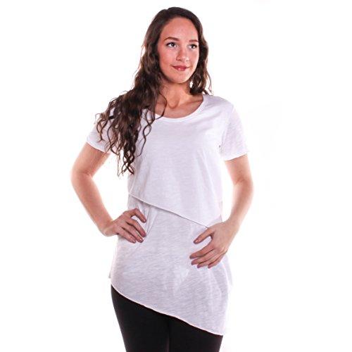 Neon Buddha Women's Sorrento Top, White, M