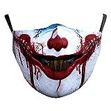 eBoutik Masque d'Halloween en tissu avec filtre à poussière