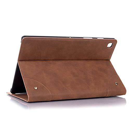 Amuse-MIUMIU Case Cover for Samsung Galaxy TAB S5e SM-T725/ T720 (2019) Cover Tablet Slim Stand Cover with Auto Sleep/Wake for Samsung Galaxy TAB 10.5 Inch, brown, 10.5 Zoll