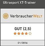 Ultrasport XT-Trainer 900M/1000A Crosstrainer/Ellipsentrainer mit Handpuls-Sensoren inkl. Trinkflasche - 8