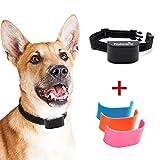 Nakosite BARK2433 El Mejor Collar Antiladridos Perros para Pequeños medianos y Grandes Bark Control Collar. Utiliza Sonidos y Vibraciones audibles. Gratis 3 Placas de Cubierta
