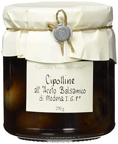 Cascina San Giovanni Cipolline all'Aceto balsamico, Zwiebeln in Balsamessig