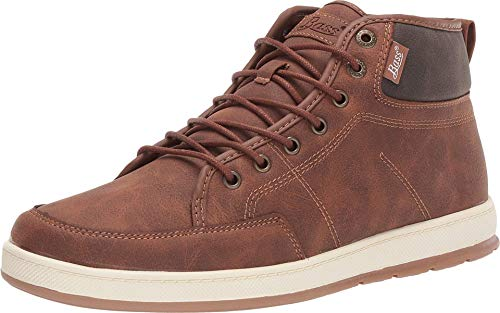 G.H. Bass & Co. Mens Barstow WX B Casual Sneaker Boot, Tan/Brown, 10 M
